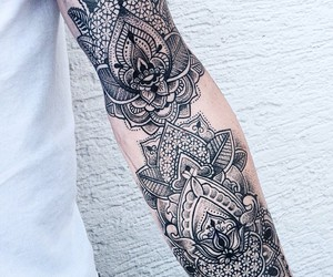 tattoo and arm image
