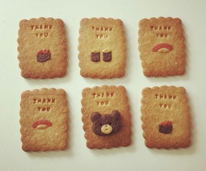 bear, Cookies, and food image