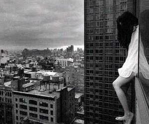 suicide, sad, and city image