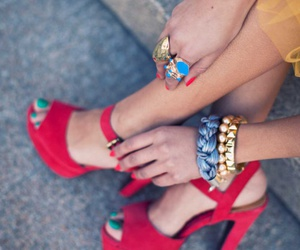 accessories, colors, and shoes image