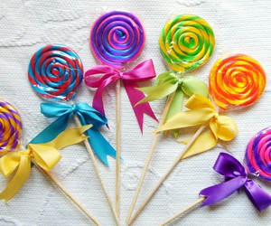 colors, delicious, and sweets image