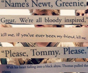 newt, thomas, and tommy image