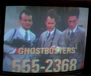 Ghostbusters, grunge, and movie image