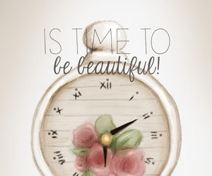 wallpaper, clock, and time image