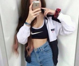 nike, outfit, and tumblr image