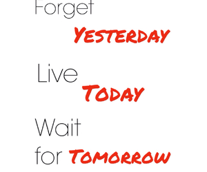 forget, live, and time image