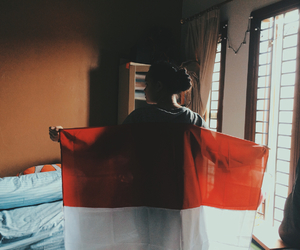 flag, indonesia, and proud image