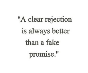 promise and rejection image