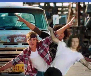 one direction, Harry Styles, and high school musical image