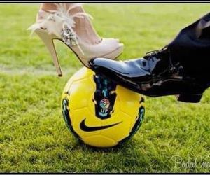 football and shoes image
