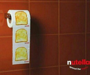 food, funny, and nutella image