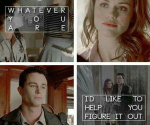 lydia martin, jordan parrish, and teen wolf image