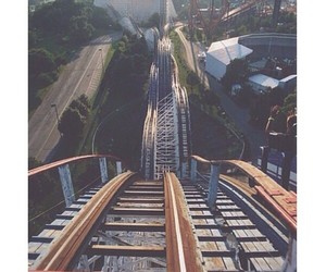 Roller Coaster, fun, and photography image