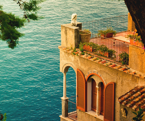 blue, italy, and sea image