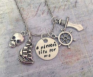 hipster, necklace, and skull image