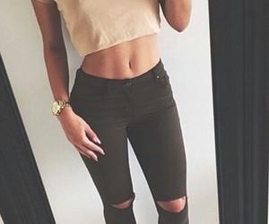 fashion, top, and girl image