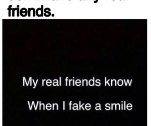 broken, fake, and fake smile image