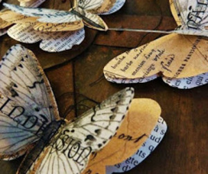 butterfly, Paper, and crafts image