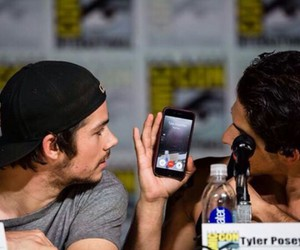 tyler posey, tyler hoechlin, and dylan o'brien image