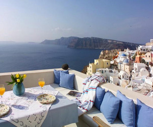date, ocean, and Greece image