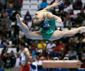 brazil, flexibility, and gymnastics image