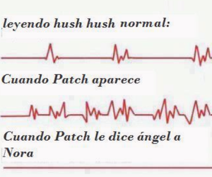 hush hush, patch, and nora image