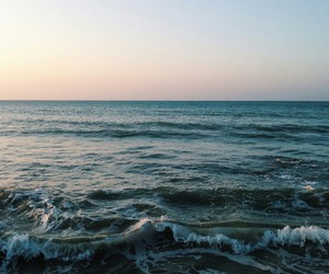 nature, ocean, and photography image
