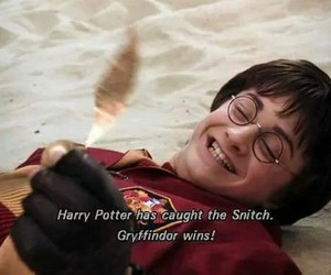 harry potter, gryffindor, and snitch image