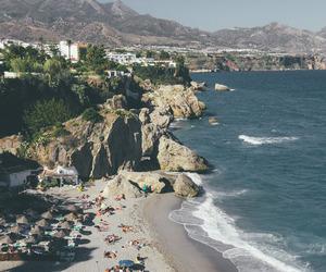 art, holidays, and beach image