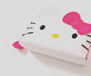 hello kitty, cute, and wallet image