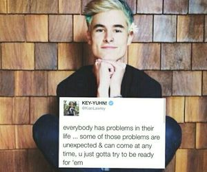 kian lawley, quote, and youtuber image