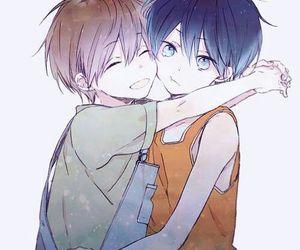 chibi, anime boy, and free! image