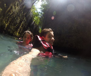adventure, caves, and water image