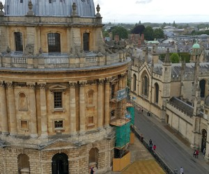 library, oxford, and summer image