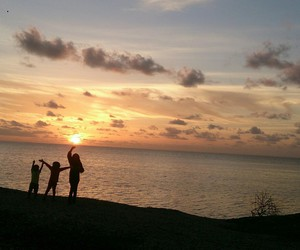 kids, Maldives, and sky image