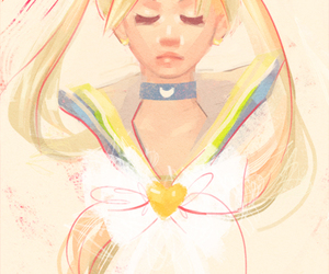 sailor moon and moon image