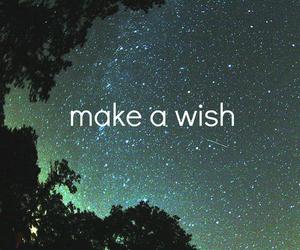 wish, stars, and make image