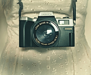 camera, vintage, and fashion image