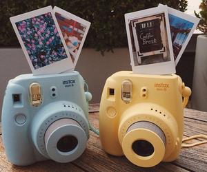 polaroid, camera, and photo image