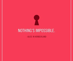 alice in wonderland, disney, and quote image