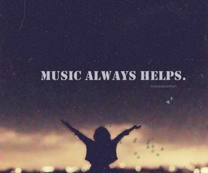 music, help, and always image