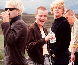 trainspotting, ewan mcgregor, and drugs image