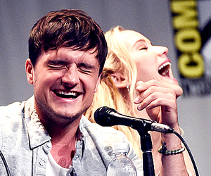 Jennifer Lawrence, the hunger games, and josh hutcherson image