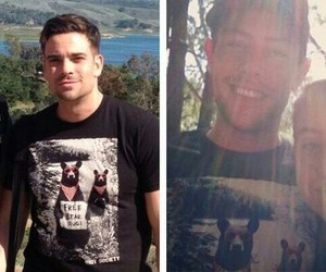 glee, mark salling, and friendship image