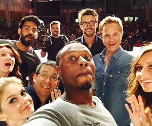 izombie, robert buckley, and david anders image