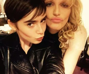 beauty, Courtney Love, and lily collins image