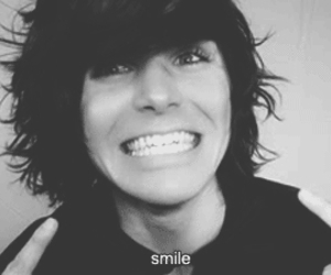 smile, onision, and youtuber image