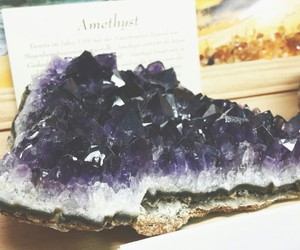 amethyst, diamond, and pale image