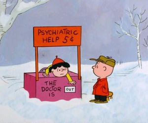 cartoon, charlie brown, and doctor image