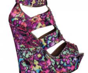 different colors, heels, and wedge image